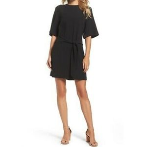 Felicity and coco black tie front dress